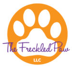 The Freckled Paw Dog Training Logo